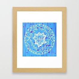 Calathea Mandala Framed Art Print