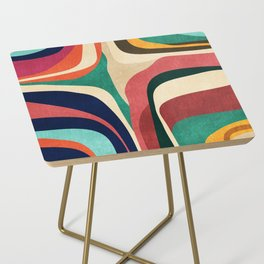 Impossible contour map Side Table