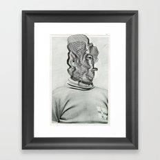 Another Portrait Disaster · a Man Framed Art Print
