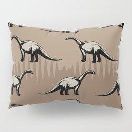 ChocoPaleo: Brontosaurus Pillow Sham