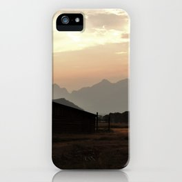 Spirit of the West iPhone Case