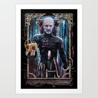 Art Print featuring Hellraiser  by FrightRags