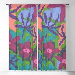 Twilight Violet Gardens Blackout Curtain