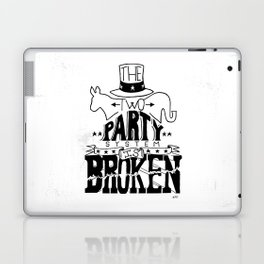 Two Party System Laptop & iPad Skin