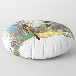 The Kiss Floor Pillow