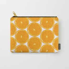 Orange Fruit Pattern Carry-All Pouch