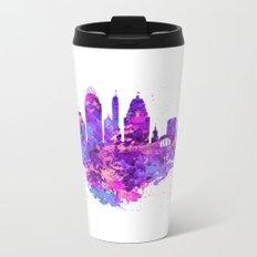 Cincinnati Skyline Metal Travel Mug