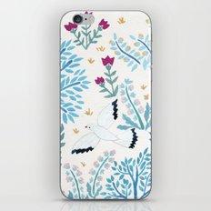 white birds garden iPhone & iPod Skin