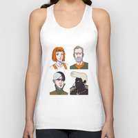 fifth element Tank Tops featuring Fifth Element by enerjax