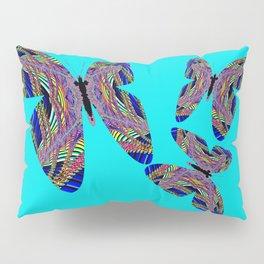 Butterfly Blue Pillow Sham