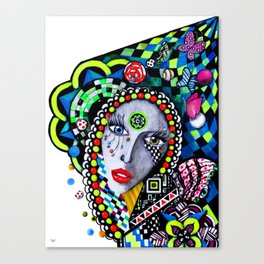 SERPENTINA COLORIDA Canvas Print