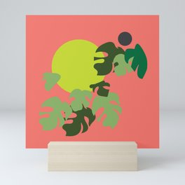 Retro jungle Mini Art Print