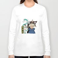 spirited away Long Sleeve T-shirts featuring Spirited Away by MegThebeau