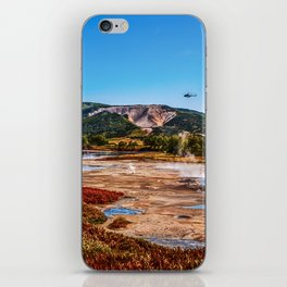 Bear Resort: Caldera Uzon iPhone Skin