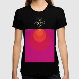 Stars and Suns Comparison T-shirt