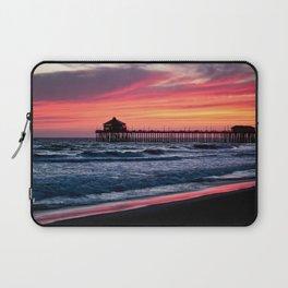 Surf City Sunsets   8/30/15   Huntington Beach California Laptop Sleeve
