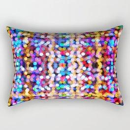 Bokeh Spots Rectangular Pillow