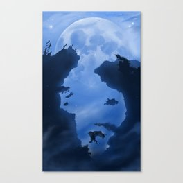 Ultic Moon Canvas Print