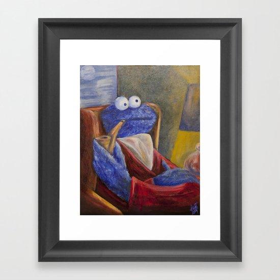 Alistair Cookie Framed Art Print
