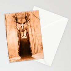 Dark Victorian Portrait Series: The Old Ways Stationery Cards