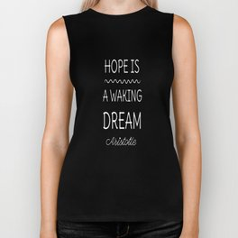 Aristotle Philosophy Quote Biker Tank