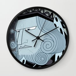 Big Trouble In Wonderland Wall Clock
