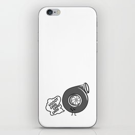 What does the turbo say? iPhone Skin