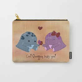Quaggan loves you! Carry-All Pouch