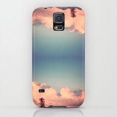 Pink Clouds Galaxy S5 Slim Case
