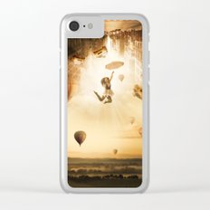 New York City Landscape Clear iPhone Case