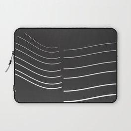 White Lines Minimal Laptop Sleeve