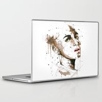 jasmine Laptop & iPad Skins featuring Jasmine by Maurice Zombie