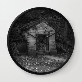 Mausoleum Wall Clock