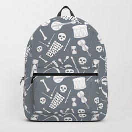 Bones Band Grey Backpack