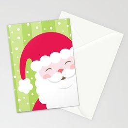 Cheerful Santa Stationery Cards