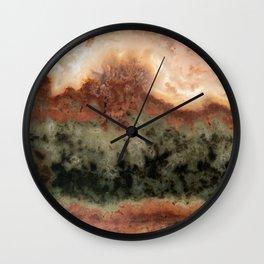 Idaho Gem Stone 3 Wall Clock