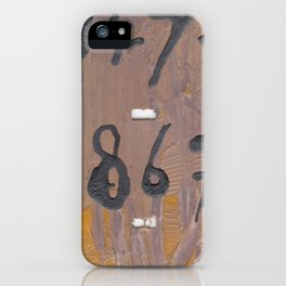 Call Me #4 iPhone Case