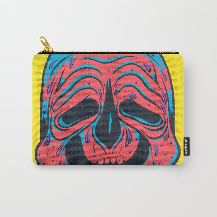 SLOPPY SKULL Carry-All Pouch