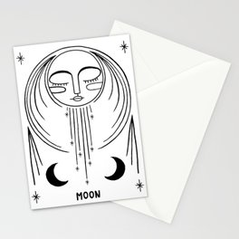 Bright Moon Stationery Cards