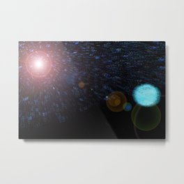 Outer Space Metal Print