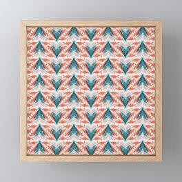 Fish tales 1a Framed Mini Art Print