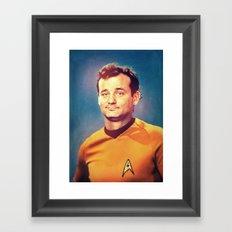 Captain Bill Framed Art Print
