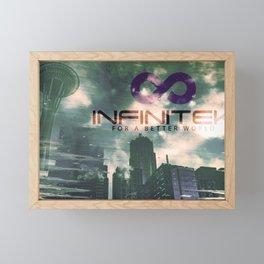 Infinitek Seattle Framed Mini Art Print