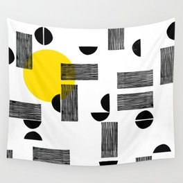 stripes & crescents Wall Tapestry