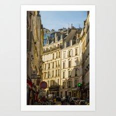 Montmartre series 6 Art Print