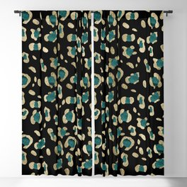 Leopard Animal Print Glam #5 #shiny #pattern #decor #art #society6 Blackout Curtain