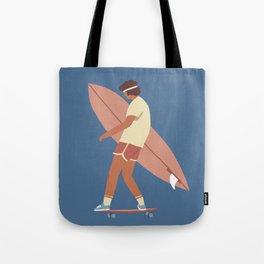 Surf poster Tote Bag