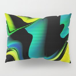 Hot abstraction with lines 4 Pillow Sham