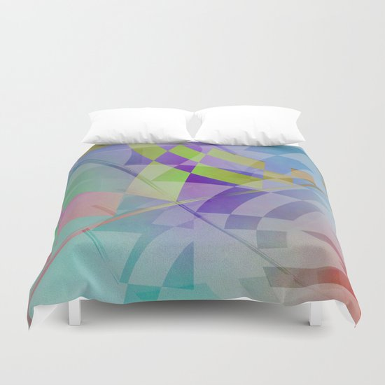 Multicolored abstract no. 68 Duvet Cover