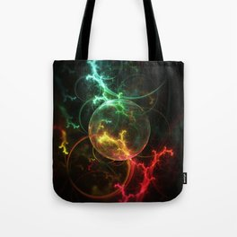 Carniverous Cape Sundew Tentacles in an Ecosphere Tote Bag